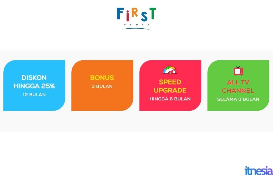 2020 FirstMedia Promo Diskon 12 Bulan & Upgrade Speed