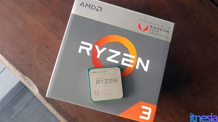 Rakit PC Untuk Kerja Di Rumah - AMD Ryzen 3 2200G 3.5 GHz Quad-Core Processor