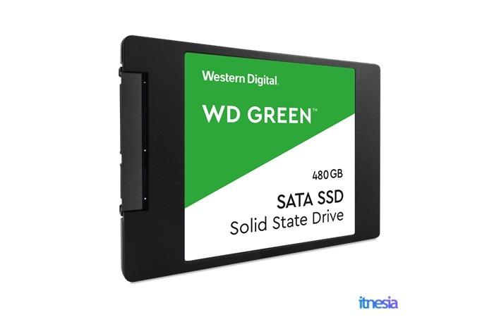 Rakit PC Untuk Kerja Di Rumah - WD Green SSD 480GB Sata 3 2.5