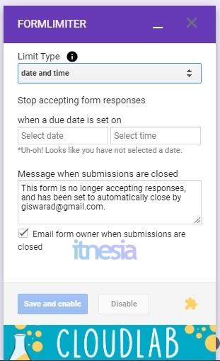 Cara Membatasi Pendaftar Di Google Form 10