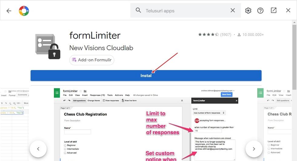 Cara Membatasi Pendaftar Di Google Form 3