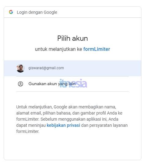Cara Membatasi Pendaftar Di Google Form 5