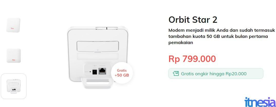 Harga Telkomsel Orbit Star 2