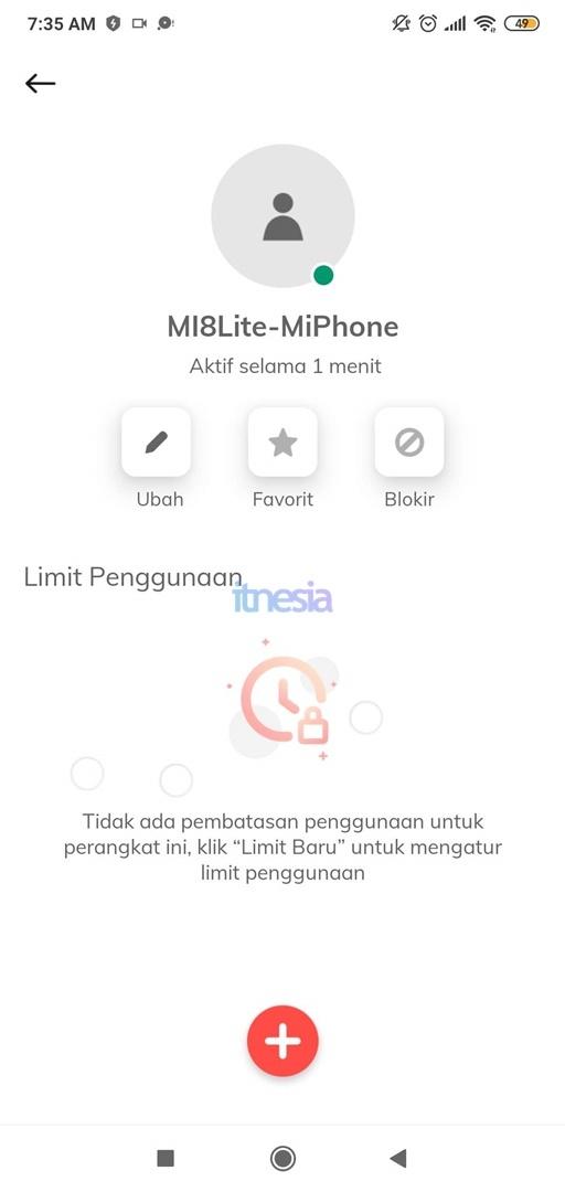 Pada Halaman Ini Kita Bisa Memblokir Seorang Pengguna WiFi