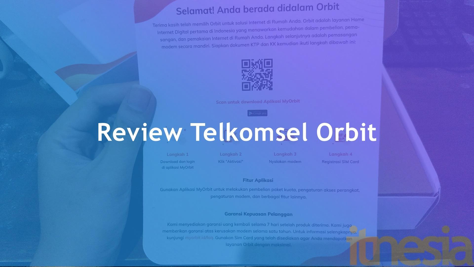 Review Telkomsel Orbit Pasang Wifi Di Rumah Tanpa Ribet Itnesia