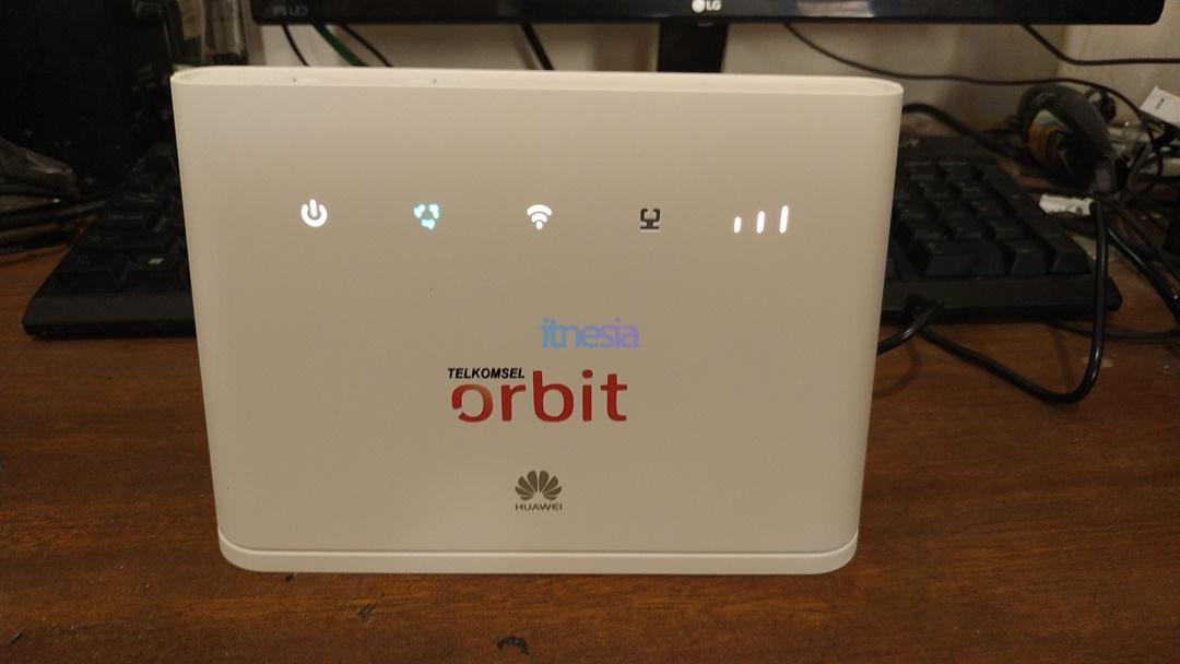 Tampak Depan Modem Huawei B311 Telkomsel Orbit Star