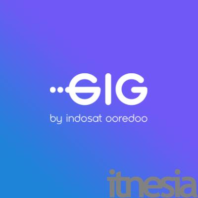 Logo Indosat GIG