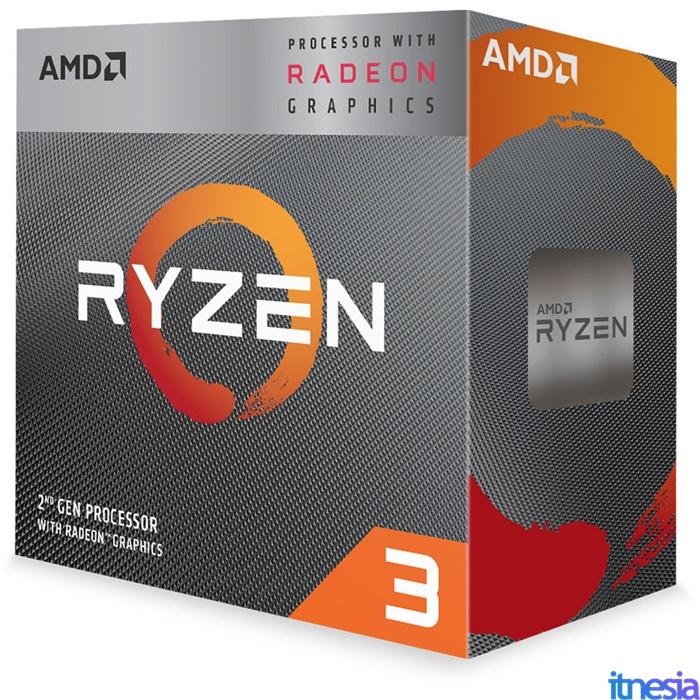 Rakit PC 6 Jutaan Untuk Kerja 2020 Processor AMD Ryzen 3 3200G 3.6 GHz Quad-Core Processor