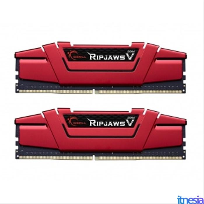 Rakit PC 6 Jutaan Untuk Kerja 2020 RAM Gskill Ripjaws V DDR4 16GB (2x8GB) PC24000 3000MHZ F4-3000C16D-16GVRB