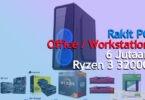 Rakit PC 6 Jutaan Untuk Kerja [Ryzen 3 3200G]