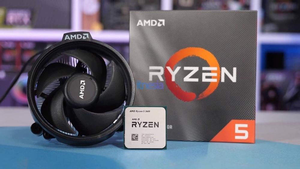 Rakit PC Gaming 15 Jutaan 2020 AMD - CPU AMD Ryzen 5 3600 3.6 GHz 6-Core Processor