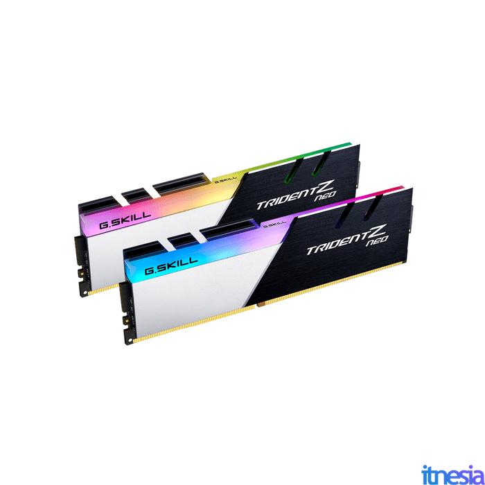 Rakit PC Gaming 16 Jutaan AMD 2020 - Memory RAM G.Skill Trident Z Neo 16GB DDR4 3600MHz (2x8GB) F4-3600C16D-16GTZN