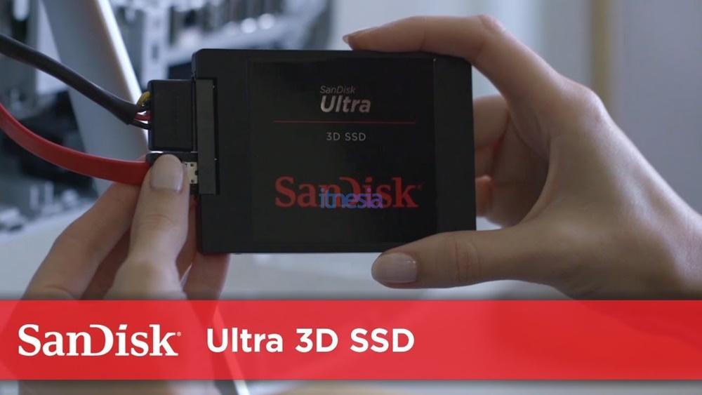 Rakit PC Gaming 16 Jutaan AMD 2020 - Storage Sandisk SSD Ultra 3D 1TB Sata 3