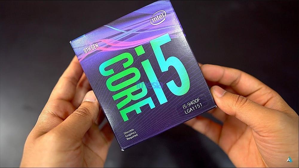 Rakit PC Gaming Intel 12 Jutaan 2020 - CPU Intel Core i5-9400F 2.9 GHz 6-Core Processor