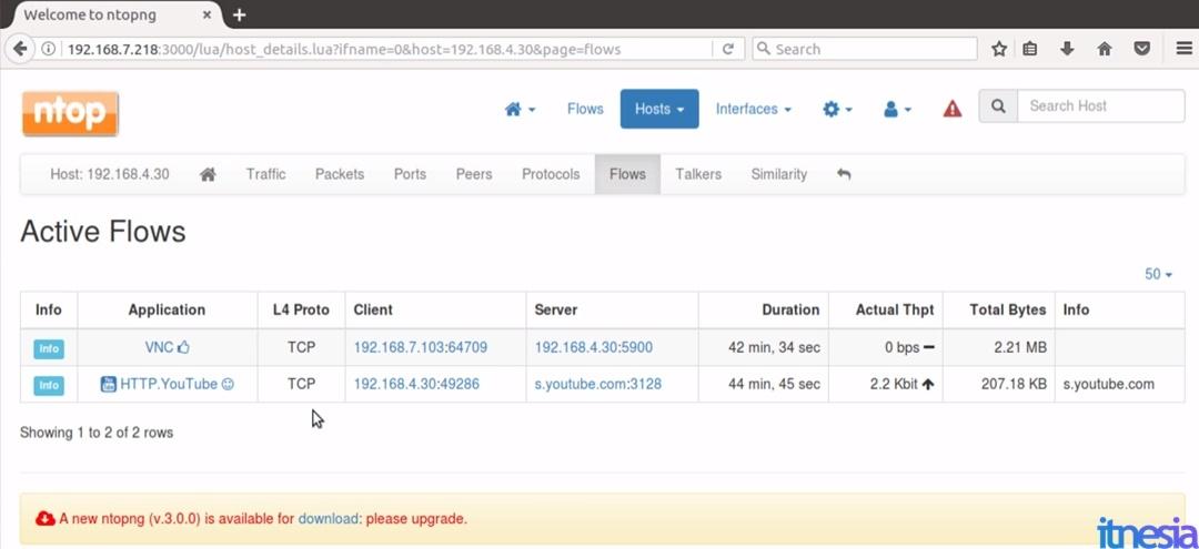 cara melihat history wifi indihome - Menggunakan Ntopng pada Squid proxy server