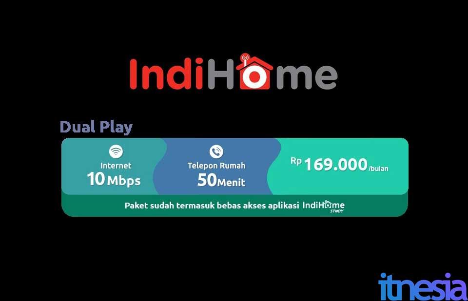 Indihome Dual Play 10 Mbps Promo WiFi Murah Dibawah 200 Ribu 2021