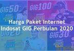 Harga Paket Internet Indosat GIG Perbulan (WiFi Di Rumah) Terbaru 2020