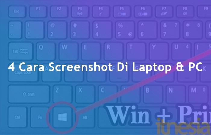Cara screenshot di laptop & komputer pada Windows 7 s.d Windows 10. juga bisa menggunakan Snipping Tools jika tombol PrtSc pada laptop rusak