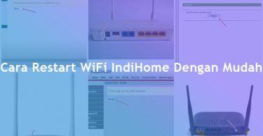 Cara Restart WiFi IndiHome Huawei