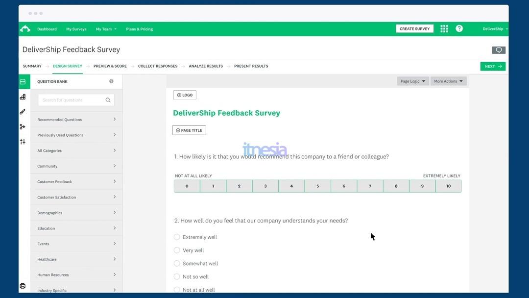 Survey Monkey - Layanan Kuesioner Online Gratis Selain Google Form