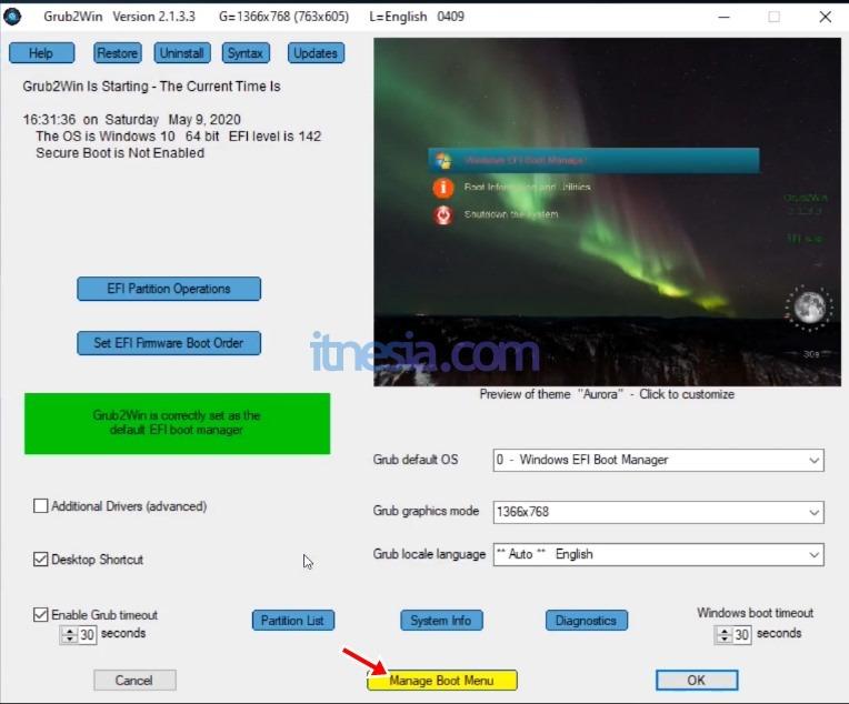 Cara Install Android x86 Pada PC Tanpa Flashdisk Dual Boot Dengan Windows - Cara Konfigurasi Dual Boot