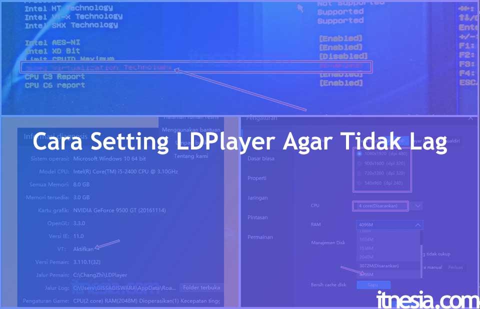 Cara Setting LDPlayer Agar Tidak Lag