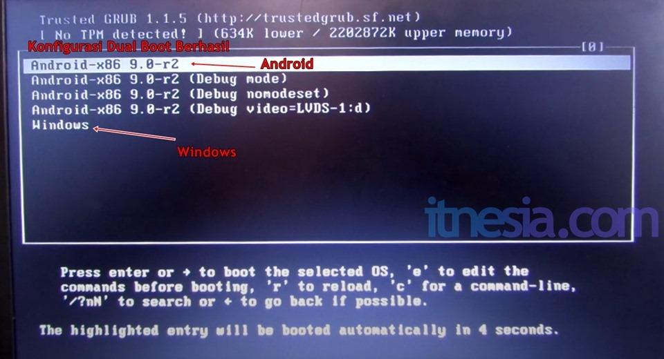 Dual Boot Windows Dan Android Pada PC