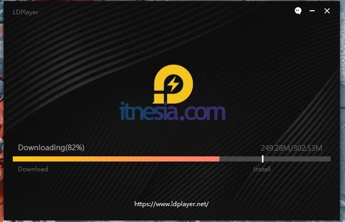 LDplayer Versi Android 5.1 Ukurannya hanya 302.53 MB