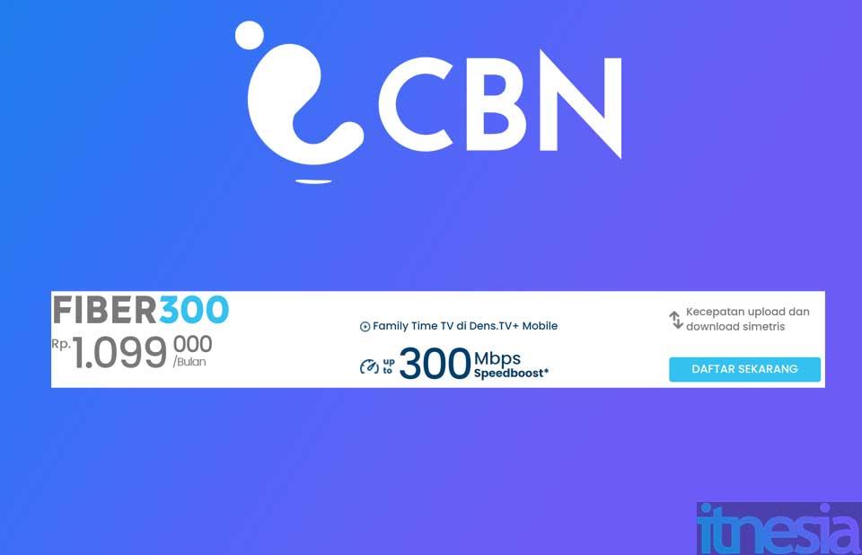 Paket WiFi tercepat dari CBN