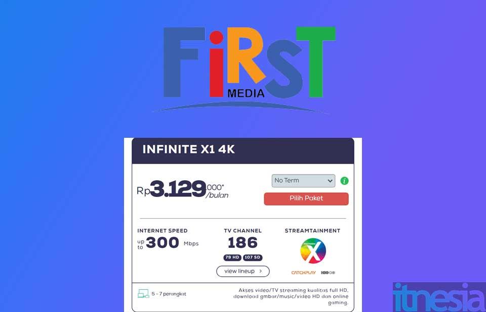 First Media Infinite X1 4K