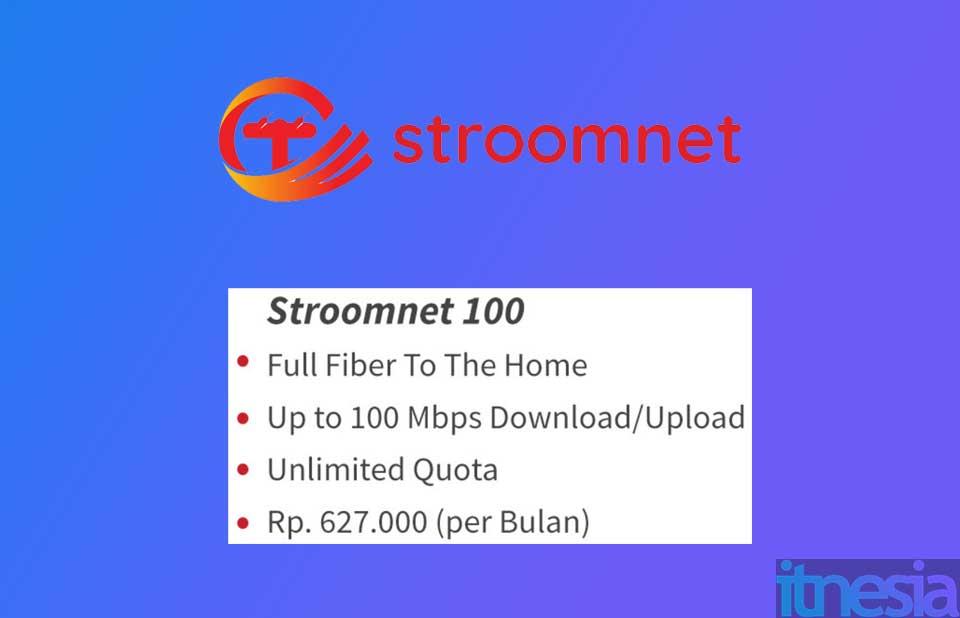 Paket WiFi tercepat dari Stroomnet
