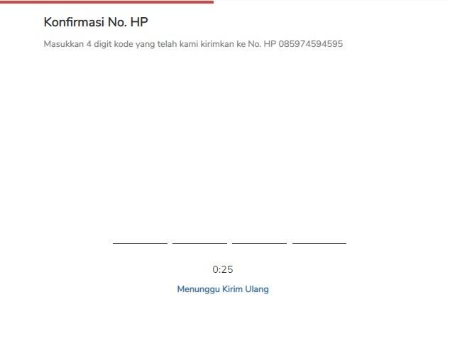 Promo IndiHome 2021 - Lakukan Konfirmasi No. HP
