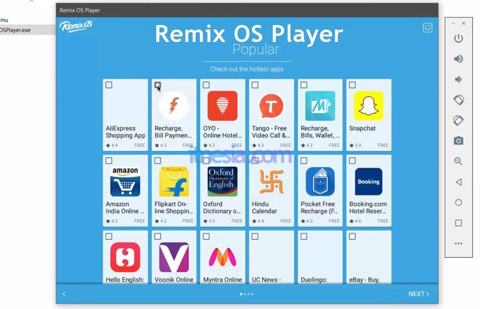 Remix OS Player Pada Windows 10