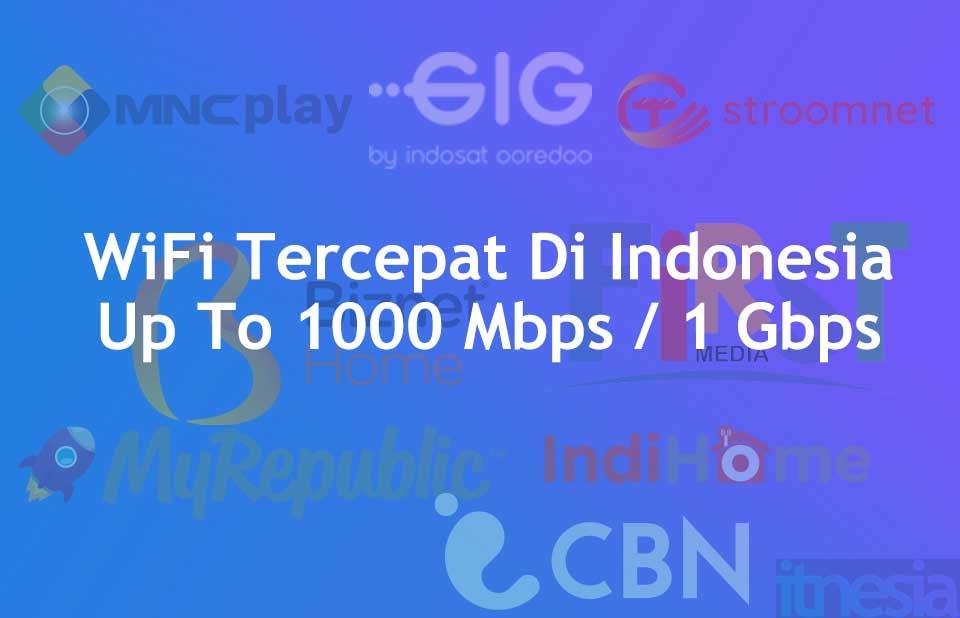 WiFi Tercepat Di Indonesia