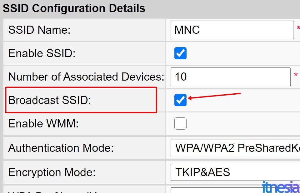 Cara Menyembunyikan SSID WiFi Agar Tidak Diketahui Tetangga