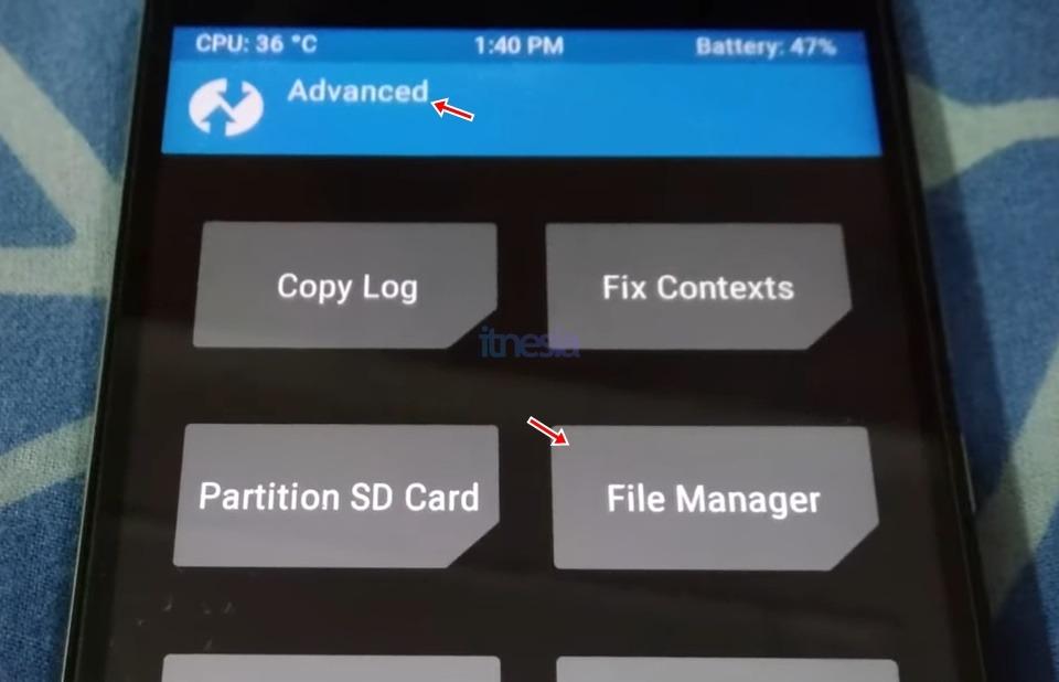 Cara Membuka Android Yang Terkunci Tanpa Menghilangkan Data Menggunakan Custom Recovery